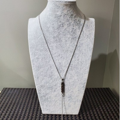 Collier  FINE ROCK TUBE LONG Swarovski  BRONZE